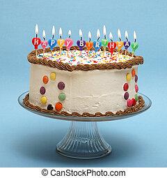 dort, narozeniny, šťastný