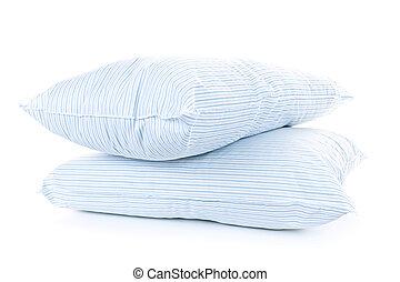dos, almohadas