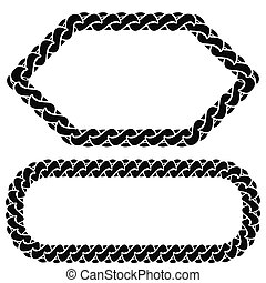 dos, cadena, marcos