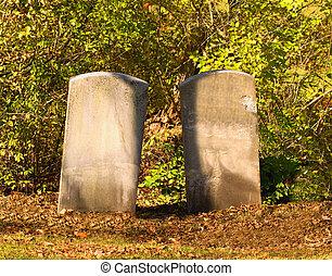 dos, Lápidas
