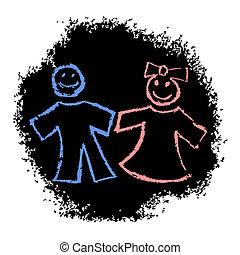 dos niño