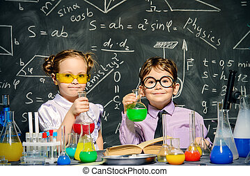 dos, poco, científicos