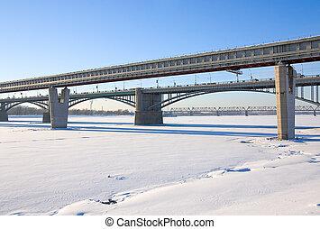 dos, puentes