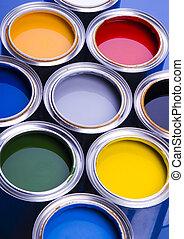 dosen, farbe