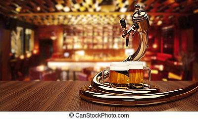 dosificador, cerveza