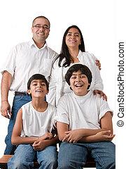 doskonały, indianin, rodzina
