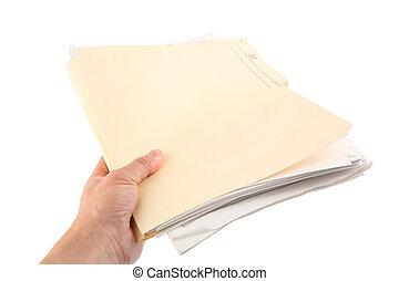 dossier, fichier