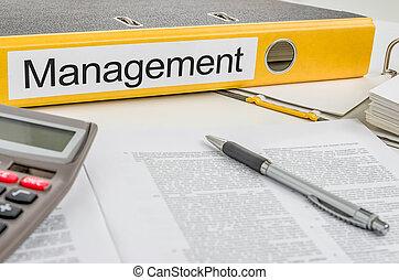 dossier, gestion, étiquette