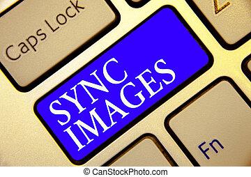 dostępny, wszystko, obliczanie, fotografia, sync, klawiatura, błękitny, pisanie, intention, images., konceptualny, identyczny, handlowy, pokaz, ręka, fotografie, klucz, odbicie, urządzenia, gdziekolwiek, showcasing, zrobienie, document.