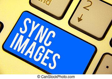 dostępny, wszystko, obliczanie, fotografia, sync, znak, komputerowa klawiatura, błękitny, tworzyć, intention, images., tekst, konceptualny, identyczny, pokaz fotografie, klucz, odbicie, urządzenia, gdziekolwiek, zrobienie, document.