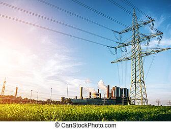 dostarczcie energii elektrycznej roślinę
