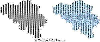 Dot Belgium Map Abstractions