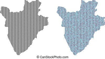 Dot Burundi Map Abstractions