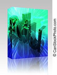 Dot edu internet box package - Software package box Dot edu...