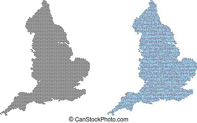Dot England Map Abstractions
