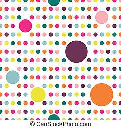 Dot flat repeat wall paper. - Colorful flat repeat wall ...