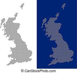 Dot Great Britain Map