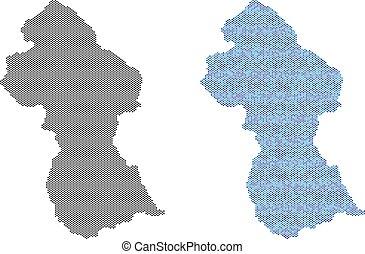 Dot Guyana Map Abstractions