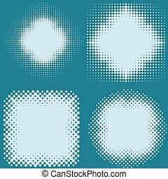 dot halftone screen