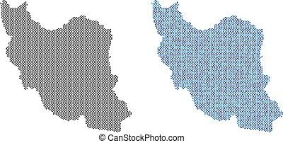Dot Iran Map Abstractions
