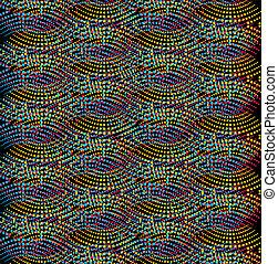 dot line background vector art