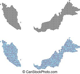 Dot Malaysia Map Abstractions
