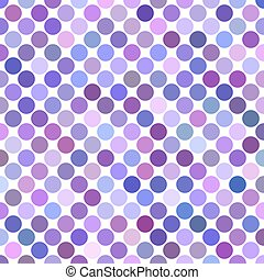 Dot pattern background - abstract vector design from circles in purple tones