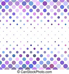 Dot pattern background - geometrical vector design from circles in purple tones
