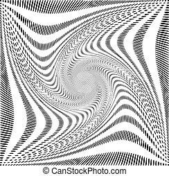 Dot spiral