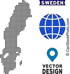 Dot Sweden Map