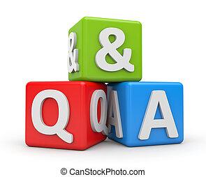 dotaz, a, odpovída