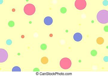 dots, полька