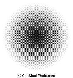 dots., modello, /, halftone, monocromatico, cerchio, texture...