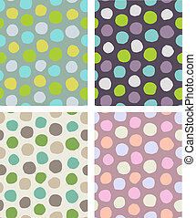 dots pattern set
