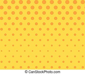 Dots seamless pattern, background. Retro pop art style. Vector illustration.