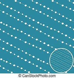 Dots vector background.