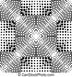 dotte, abstratos, pattern., seamless, halftone, vetorial,...