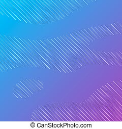 Dotted background with blue gradient