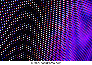 Dotted gradient background with pink, blue and purple tones
