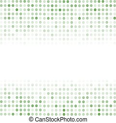 Comic Book Background Dotted Green Halftone Pattern