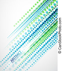Dotted lines background - Vector dotted straight lines...
