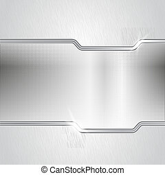 Dotted metal abstract backround - Mixed metal background....