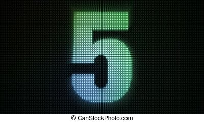 Dotty Countdown HD Loop