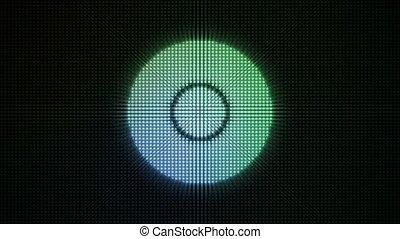 Dotty Radial Lights HD Loop