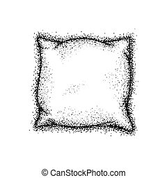 Dotwork Bed Pillow