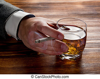 Double addiction to alcohol and cigarette