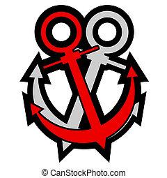 Double anchor - Creative design of double anchor
