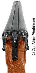 Double-barrelled gun