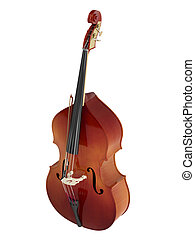 Double bass or string bass, upright bass, standup bass or...