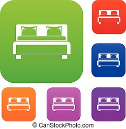 Double bed set collection